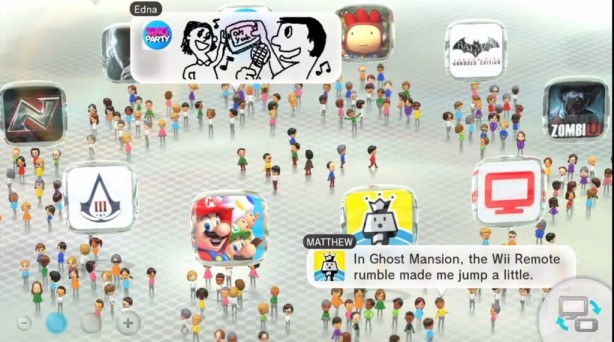 The Window To The Miiverse Warawara Plaza