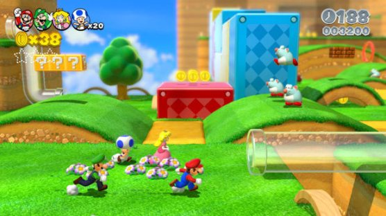 WiiU's Biggest Games Like Super Mario 3D World Are Still A Little While Away