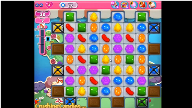 Some Levels Of Candy Crush Are So Hard That Without Boosters Or Extra Lives You Could Spend Hours And Days In One Place